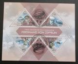 Poštovní známky Togo 2013 Vzducholodě Mi# 5021-24 Kat 12€