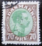 Poštovní známka Dánsko 1920 Král Christian X. Mi# 107