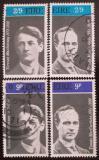 Poštovní známky Irsko 1970 Osobnosti Mi# 244-47 Kat 13€