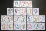 Poštovní známky Německo 1986-91 Slavné ženy SC# 1475-94A Kat 53€