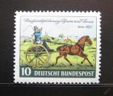 Poštovní známka Německo 1952 Listonoš Mi# 160