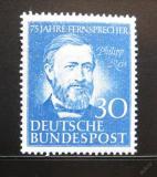 Poštovní známka Německo 1952 Philipp Reis Mi# 161 50€