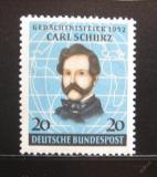 Poštovní známka Německo 1952 Carl Schurz Mi# 155 20€