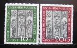 Poštovní známky Německo 1951 Marienkirche Mi# 139-40 Kat 200€