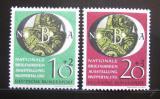 Poštovní známky Německo 1951 Národní výstava Mi# 141-42 90€