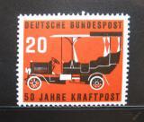 Poštovní známka Německo 1955 Motor-bus služba Mi# 211