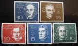 Poštovní známky Německo 1959 Skladatelé Mi# 315-19 Kat 20€