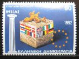 Poštovní známka Řecko 1992 Sjednocení Evropy Mi# 1824