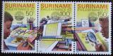 Poštovní známky Surinam 1982 Výstava PHILEXFRANCE Mi# 987-89