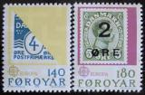 Poštovní známky Faerské ostrovy 1979 Evropa CEPT Mi# 43-44