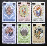 Poštovní známky Sierra Leone 1982 Královská svatba Mi# 658-63