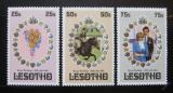 Poštovní známky Lesotho 1981 Královská svatba Mi# 344-46