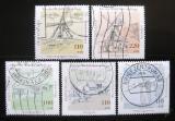 Poštovní známky Německo 1997 Mlýny Mi# 1948-52