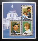 Poštovní známky Niue 1981 Královská svatba Mi# Block 48