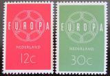 Poštovní známky Nizozemí 1959 Evropa CEPT Mi# 735-36