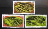Poštovní známky JAR 1973 Wolraad Woltemade Mi# 421-23