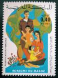 Poštovní známka Maroko 1976 Plánování rodiny Mi# 830
