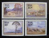 Poštovní známky JAR 1989 Umění Mi# 779-82