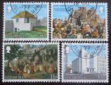 Poštovní známky Ostrov Man 1977 Historie Mi# 101-04