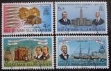 Poštovní známky Ostrov Man 1975 Osadníci v Ohiu Mi# 54-57