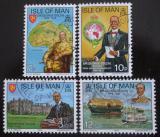 Poštovní známky Ostrov Man 1975 Sir George Goldie, architekt Mi# 64-67