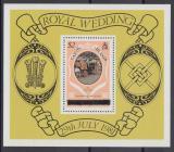 Poštovní známka Caicos 1981 Královská svatba Mi# Block 1 I