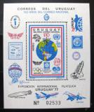Poštovní známka Uruguay 1977 UREXPO výstava Mi# Block 35