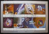 Poštovní známky Jemen 1970 Apollo 12 Mi# 1129-35