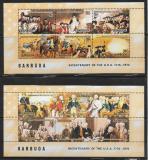 Poštovní známky Barbuda 1976 Americká revoluce Mi# 249-60