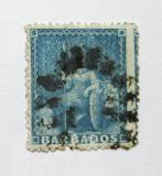 Poštovní známka Barbados 1870 Britannia Mi# 12A Kat 80€