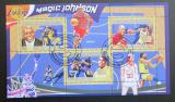 Poštovní známky Guinea 2009 Basketbal, Magic Johnson Mi# 6710-12