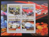 Poštovní známky Guinea 2011 Auta světa Mi# 9014-17 Kat 16€