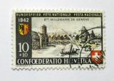 Poštovní známka Švýcarsko 1942 Ženeva Mi# 408
