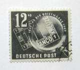 Poštovní známka DDR 1949 Den známek Mi# 245