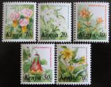 Poštovní známky Keňa 1983 Květiny, ze sešitku Mi# 240-42,44-45