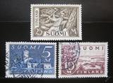 Poštovní známky Finsko 1930 Různé motivy Mi# 155-57