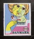 Poštovní známka Dánsko 1986 Umění, Bjorn Wiinblad Mi# 855