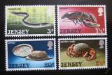 Poštovní známky Jersey 1973 Mořská fauna Mi# 91-94