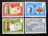 Poštovní známky Jersey 1974 UPU, 100. výročí Mi# 99-102