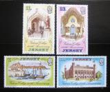 Poštovní známky Jersey 1977 Královská VŠ Mi# 168-71