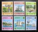 Poštovní známky Jersey 1980 Expedice Drake Mi# 228-33