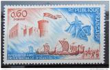 Poštovní známka Francie 1966 Bitva u Hastings Mi# 1549