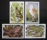 Poštovní známky Jersey 1989 Ohrožené druhy, WWF Mi# 480-83