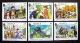 Poštovní známky Jersey 1989 Francouzská revoluce Mi# 485-90