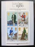 Poštovní známky Velká Británie 1980 Výstava LONDON Mi# Block 2