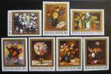 Poštovní známky Maďarsko 1977 Umění, květiny Mi# 3192-98