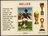 Poštovní známka Belize 1981 MS ve fotbale Mi# Block 46