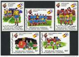 Poštovní známky Komory 1982 MS ve fotbale Mi# 665-69