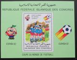 Poštovní známka Komory 1981 MS ve fotbale Mi# Block 226