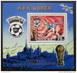Poštovní známka KLDR 1981 MS ve fotbale Mi# Block 94
